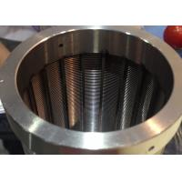 Wholesale Centrifugal Baskets  Industrial Screens Cylindrical , Conical With Wedge Wire Profile from china suppliers