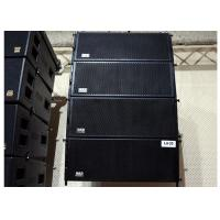"Wholesale Double 10"" 2 Way Conference Room Speakers 800 Watts RMS Passive Line Array from china suppliers"