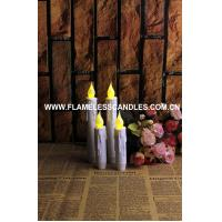 Quality Set of 2 Resin Drip Taper Candles With Timer– Battery Operated for sale