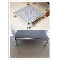 Wholesale Steel Anti Static PVC Raised Access Flooring Systems Shockproof / Rasied Floor Pannels from china suppliers