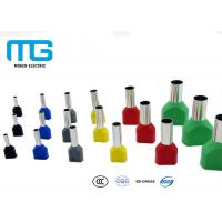 Wholesale Europe Standard Insulated Wire Terminals Connectors , Insulated Cord End Terminal from china suppliers