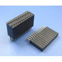 Wholesale China copy1.27x2.54 mm pitch female box Header,dual rows from china suppliers