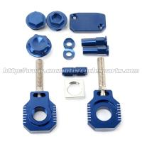 Wholesale High Strength MX Bling Kit Ktm Chain Adjuster Blocks For HUSABERG TE FE from china suppliers