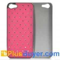 Wholesale Pink Rhinestone Case for iPhone 5 - Durable & Lightweight from china suppliers