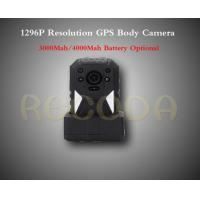 Wholesale RECODA M505 1296P Resolution Police Body Camera with GPS 11 hours working time from china suppliers