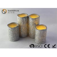 Wholesale Carved Craft Real Wax painting led candle , Electronic Candles from china suppliers