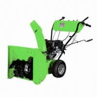 Wholesale 9.0HP gasoline engine snow thrower/blower, 302cc, 71cm working width, optional battery starter from china suppliers