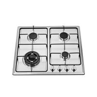 Wholesale Kitchen NG / LPG 4 Burner Gas Hob , Stainless Steel 4 Burner Gas Cooktop from china suppliers
