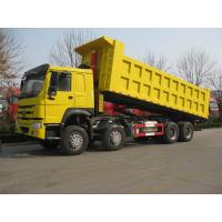 Wholesale Drive Model 8X4 SINOTRUK 336 hp Tipper Truck / Dump Truck With HYVA Hdraulic Lifting System from china suppliers