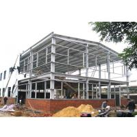 Quality Customized Prefab Steel Frame Industrial Buildings Easy Erection For Warehouse for sale