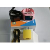 Wholesale Accurate Pink Portable GPS Tracker , Senior People GPS Wrist Watch from china suppliers