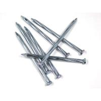 "Wholesale Furniture Shanked Hot Galvanized Concrete Nails Big Head 4.5mm x 4"" from china suppliers"