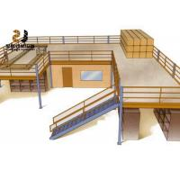 Buy cheap 2-Layer Industrial Mezzanine Floor With Warranty 5 Years / Mezzanine Railing from wholesalers