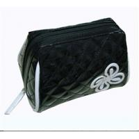 Wholesale Designer Cosmetic Bags and Cosmetic Case Made of check PU, leather, PVC from china suppliers