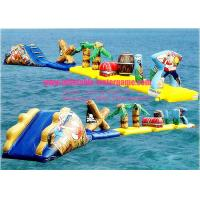 Wholesale Summer Sports Waterproof Inflatable Water Obstacle Course Hot Air Welding from china suppliers