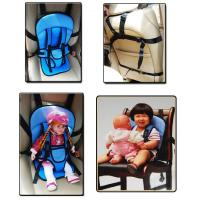 Wholesale Portable Safety Seat with Safety Belt For Babies & Children Baby Safe Chair Multi-function car cushion from china suppliers