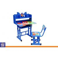 Wholesale Adjustable Toddler Study Table Chair Set , Indoor or Outside Children Study Table Furniture from china suppliers