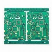Wholesale 4layers PCB with Thickness of 1.6mm and Copper Thickness of 1.0oz from china suppliers