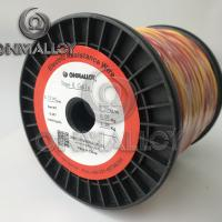 Wholesale Type K Thermocouple Cable 0.711mm fiberglass insulation 450degress from china suppliers