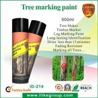 Custom Tree spray marking paint For Wood , Fast Drying And High Spray Rate