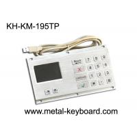 Wholesale Anti - Vandal Industrial Keyboard with Touchpad Stainless Steel Material from china suppliers