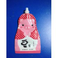 Wholesale Aluminum Foil Stand Up Spout Pouch , Liquid Special Shaped Suction Nozzle Bag from china suppliers
