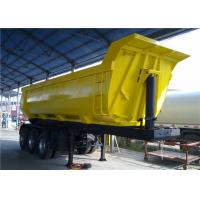 Wholesale 40 Ton Self Dumper Heavy Truck Trailer Rear U Shape Tipper Dump Tipping Truck Semi Trailer from china suppliers