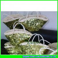 Wholesale LDYP-119 2015 hot sale sequins totes cornhusk straw fashion online handbags from china suppliers