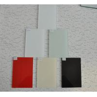 Buy cheap Cappuccino Painted glass / Lacquered Glass/ Lacobel Glass of 2mm,3mm,4mm,5mm,6mm, RAL0987 from wholesalers