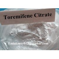 Wholesale Bodybuidling Raw Steroids Powder Toremifene Citrate for Cancer Treatment , CAS 89778-27-8 from china suppliers