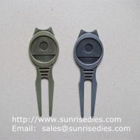 Wholesale Golfer Divot tools for repairing pitch mark, Wholesale Metal Golf Divot repair tools from china suppliers