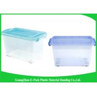 Wholesale Light Weight Clear Storage Boxes New PP Waterproof Household Portable With Lid from china suppliers