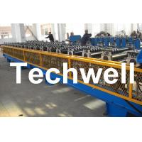 Wholesale 7.5KW High Speed Double Deck / Layer Roll Forming Machine With Automatic Hydraulic Cutting from china suppliers