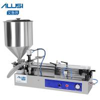 Wholesale Semi-auto Lotion Cosmetic Filler HoneyCream Piston Paste Liquid Filling Machine from china suppliers