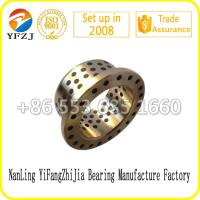 Buy cheap industrial oilless bearing series including bronze graphite bearing,sleeve bushing ,bronze bush from wholesalers