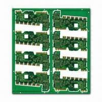 Wholesale Watch PCB with Green Solder Mask and 0.3mm Minimum Hole Size, Used for Electronic Appliances from china suppliers