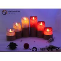 Wholesale Remote Control Flickering Led Candles , Led Flameless Candles With Timer from china suppliers