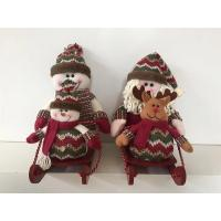 Wholesale Christmas Decoration Elf with Sled from china suppliers