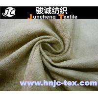 Wholesale Hign Desity Fashion Weft Knitting Stretch Suede/decoration/ sofa upholstery /apparel from china suppliers