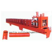 Wholesale Color Steel Roof Ridge Cap Roll Forming Machine For Theatre / Garden Roofing from china suppliers