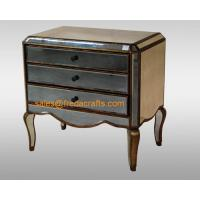 Wholesale Direct factory price antique glass venetian mirrored bedside cabinet  furniture from china suppliers