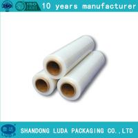 Wholesale hot blue polyethylene protective cling film from china suppliers
