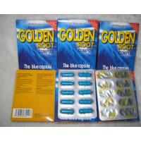 Wholesale Natural 300mg Male Enlargement Pills Golden Root Blue Capsules for men penis enlargement from china suppliers