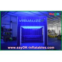 Wholesale Rainbow Lighting Inflatable Air Tent Show Inflatable Camping Tent from china suppliers