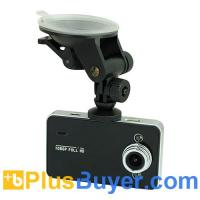 Wholesale 2.7 inch TFT Full HD 1080P Vehicle DVR with G-sensor - Black from china suppliers