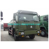 Wholesale SINOTRUK howo 15m3 Water Carrier Truck 6x4 Drive for  army , Water Bowser Truck from china suppliers