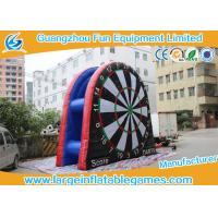 Wholesale Double Sided Commercial Inflatable Dart Board Children / Adult Dart Games from china suppliers
