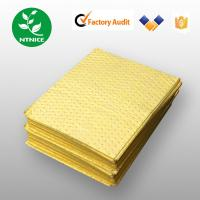 Quality Yellow 100% polypropylene Spill Control Chemical Haz-chem Absorbent Sorbent Pad (Sheet) for sale