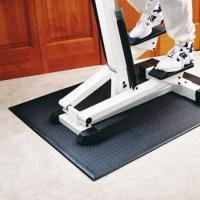Wholesale Hot Printed Treadmill Anti Vibration Floor Protector Mat Fitness Equipment from china suppliers