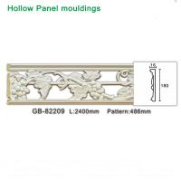 Buy cheap Grape design polyurethane foam White hollow moulding for light through from wholesalers